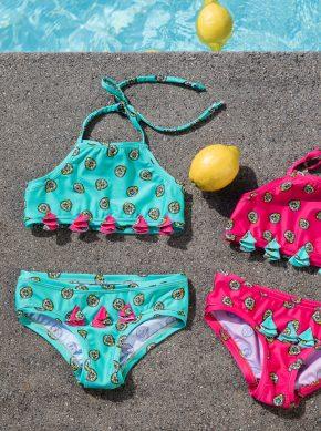 Bikini, recycling Fasern, UV Schutz, handgefertigt