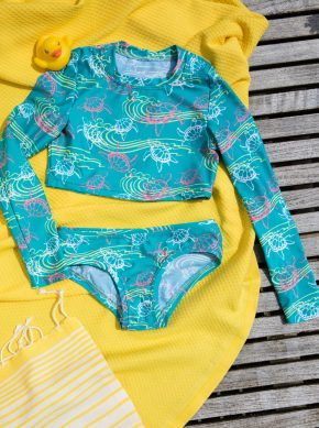 Langarm Kinder Bikini, made in germany