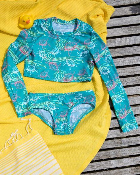 Langarm Kinder Bikini, made in germany
