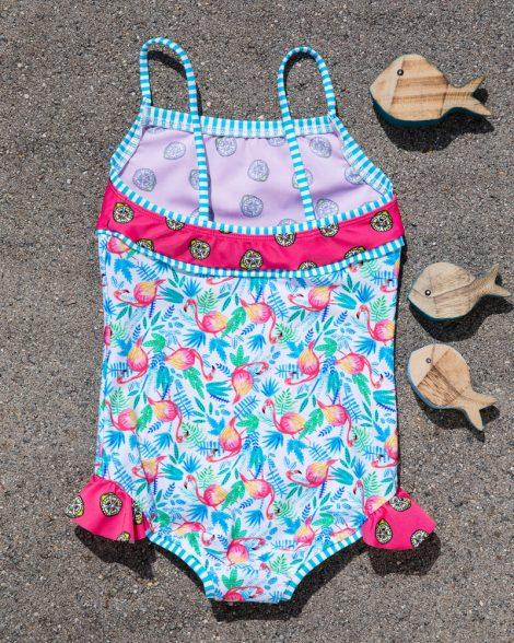 nachhaltiger Mädchenbadeanzug, nachhaltig, recycling Stoff, nachhaltige Mode