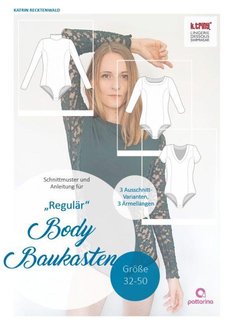 Body Schnittmuster in Regulär, Gr. 32-50